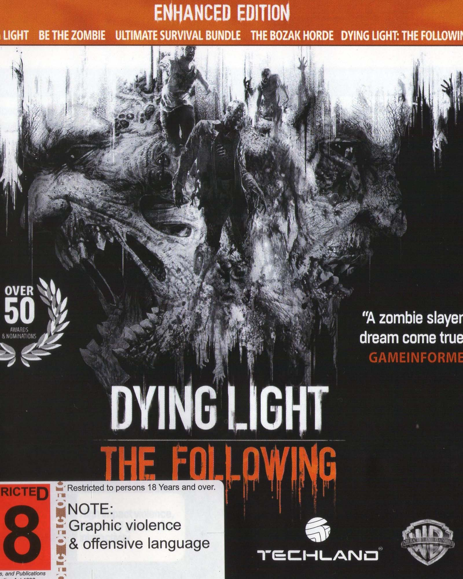 how to get dying light data