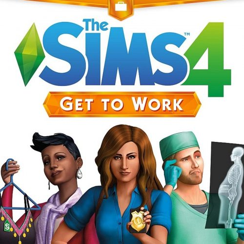 The Sims 4 Aan het werk